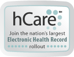 photo of hCare button